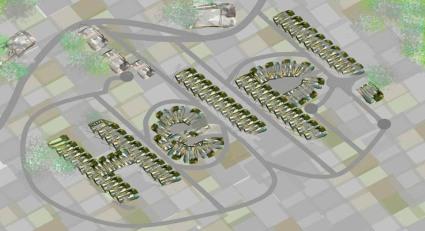 aerial suburbs alienation